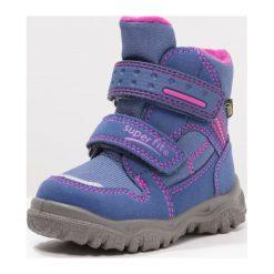 Superfit HUSKY1 Śniegowce water. Niebieskie buty zimowe damskie marki Superfit, z materiału. W wyprzedaży za 194,35 zł.