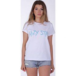 T-shirty męskie z nadrukiem: Lazy Star white t-shirt
