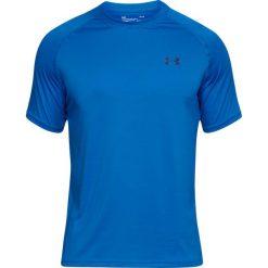 Under Armour Koszulka męska Tech Short Sleeve T-Shirt Blue r. XL (1228539437). Niebieskie koszulki sportowe męskie Under Armour, m. Za 87,02 zł.