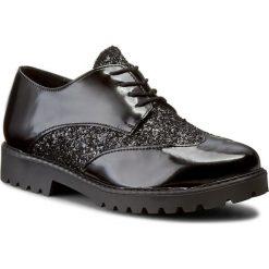 Oxfordy TRUSSARDI JEANS - 79S300 19. Czarne jazzówki damskie marki Trussardi Jeans, z jeansu, na obcasie. W wyprzedaży za 449,00 zł.