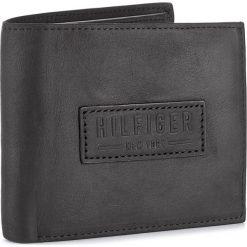 Portfele męskie: Duży Portfel Męski TOMMY HILFIGER - Hilfiger Deboss Mini Cc With Coin Pocket AM0AM02706 002