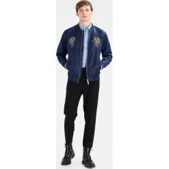 Koszule męskie na spinki: Knowledge Cotton Apparel Koszula strong blue
