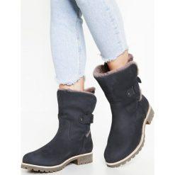 Panama Jack FELIA IGLOO Botki marino. Niebieskie buty zimowe damskie Panama Jack, z materiału. W wyprzedaży za 629,25 zł.