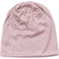 Czapka damska beanie Tafla wody różowa. Czerwone czapki zimowe damskie Art of Polo. Za 32,73 zł.