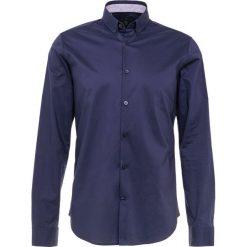 Bogner TIMI SLIM FIT Koszula navy. Szare koszule męskie slim marki Bogner, m, z nadrukiem, z bawełny. Za 419,00 zł.