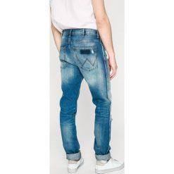 Wrangler - Jeansy Spencer. Niebieskie jeansy męskie slim Wrangler, z bawełny. W wyprzedaży za 259,90 zł.