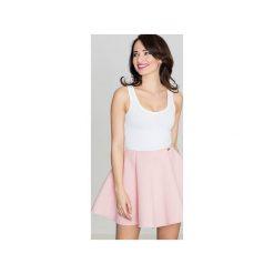 Spódnica K268 Róż. Szare spódnice wieczorowe marki Lenitif, l. Za 99,00 zł.