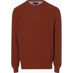 Andrew James - Sweter męski, brązowy. Brązowe swetry klasyczne męskie Andrew James, m, z bawełny. Za 179,95 zł.