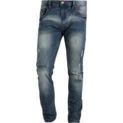 INDICODE JEANS UPPSALA Jeansy Slim Fit bleed blue. Niebieskie jeansy męskie relaxed fit marki INDICODE JEANS, z bawełny. Za 219,00 zł.