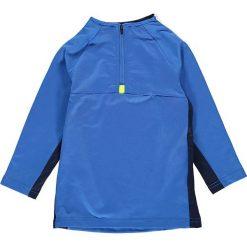 """Koszulka """"Tyler 601"""" w kolorze niebieskim. Niebieskie t-shirty chłopięce z długim rękawem LEGO Wear, z aplikacjami, z materiału. W wyprzedaży za 67,95 zł."""