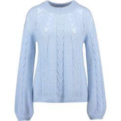 Swetry klasyczne damskie: Second Female MONA KNIT Sweter ballon blue
