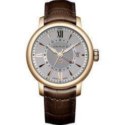 Zegarki męskie: Zegarek męski GMT Quartz Aerowatch Renaissance 44937.RO10