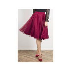 Spódnica Yasmine. Niebieskie spódnice wieczorowe Wow fashion, w paski, z tiulu. Za 280,00 zł.
