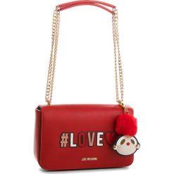 Torebka LOVE MOSCHINO - JC4068PP16LK0500 Rosso. Czerwone torebki klasyczne damskie marki Love Moschino, ze skóry ekologicznej. W wyprzedaży za 669,00 zł.
