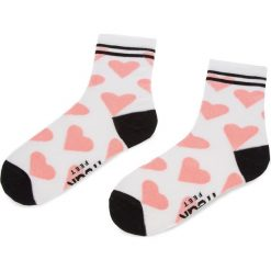 Skarpety Wysokie Damskie FREAK FEET - LSRC-WHP Biały. Czarne skarpetki damskie marki Freak Feet, z bawełny. Za 19,99 zł.