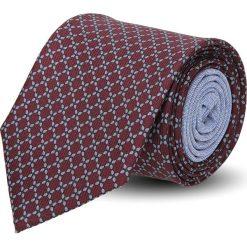 Krawaty męskie: krawat winman bordo classic 208