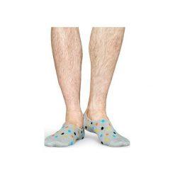 Skarpetki Happy Socks Liner Socks DOT06-9001. Czerwone skarpetki męskie Happy Socks, z bawełny. Za 25,90 zł.