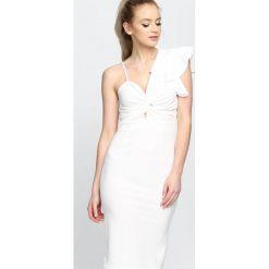 Sukienki: BIała Sukienka Sunset