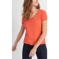 Odzież damska: T-shirt z rozcięciami