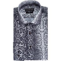 Koszula SIMONE KDWS000396. Szare koszule męskie jeansowe marki Giacomo Conti, m, z klasycznym kołnierzykiem. Za 199,00 zł.