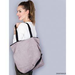 Torba Simple gray. Szare torebki klasyczne damskie Pakamera, w paski. Za 149,00 zł.