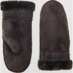 Rękawiczki z futerkiem - Czarny. Czarne rękawiczki damskie House. Za 39,99 zł.