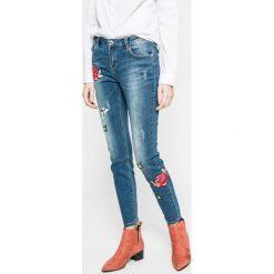 Broadway - Jeansy Jane. Niebieskie jeansy damskie Broadway, z bawełny. W wyprzedaży za 139,90 zł.