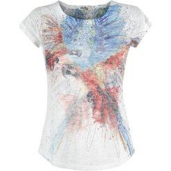 Bluzki damskie: Innocent Colourful Parrot Koszulka damska wielokolorowy
