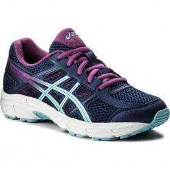 Buty ASICS - Gel-Contend 4 Gs C707N Indigo Blue/Porcelain Blue/Orchid 4914. Niebieskie buty do biegania damskie Asics, z materiału. W wyprzedaży za 189,00 zł.