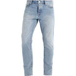 Topman Jeansy Slim Fit light blue. Niebieskie rurki męskie Topman. Za 169,00 zł.