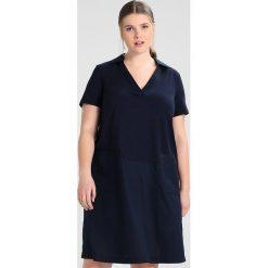 Sukienki hiszpanki: Persona by Marina Rinaldi ORZO BLOCK SHIRT DRESS Sukienka z dżerseju blu marino