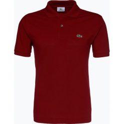 Lacoste - Męska koszulka polo, czerwony. Szare koszulki polo marki Lacoste, z bawełny. Za 399,95 zł.