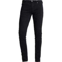 Nudie Jeans SKINNY LIN Jeans Skinny Fit black denim. Czarne jeansy męskie relaxed fit marki Criminal Damage. Za 419,00 zł.