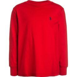 Polo Ralph Lauren Bluzka z długim rękawem red. Czerwone bluzki dziewczęce bawełniane Polo Ralph Lauren, z długim rękawem. Za 149,00 zł.