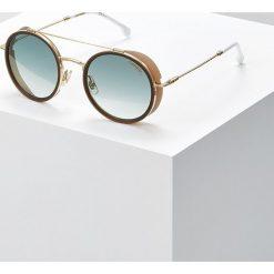 Carrera Okulary przeciwsłoneczne goldcoloured/white. Żółte okulary przeciwsłoneczne damskie lenonki Carrera. Za 709,00 zł.