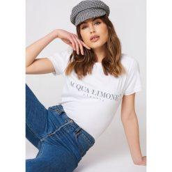 T-shirty męskie z nadrukiem: Acqua Limone T-shirt Classic – White