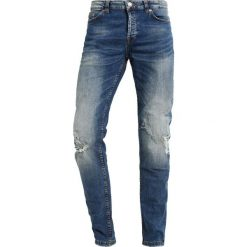 Only & Sons ONSLOOM BREAKS Jeans Skinny Fit light blue denim. Brązowe jeansy męskie marki Only & Sons, l, z poliesteru. Za 249,00 zł.