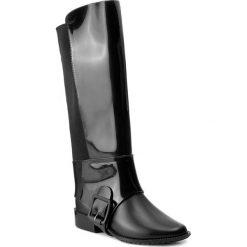 Kalosze MELISSA - Melissa Riding II Ad 32221 Black 01003. Czarne buty zimowe damskie Melissa, z materiału. W wyprzedaży za 459,00 zł.