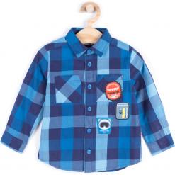 Koszula. Niebieskie koszule chłopięce z długim rękawem marki BOARD KING, z poliesteru. Za 39,90 zł.