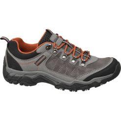 Trekkingowe buty męskie Highland Creek popielate. Szare buty trekkingowe męskie Highland Creek, z materiału, na sznurówki. Za 119,90 zł.