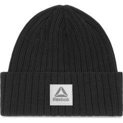 Czapka Reebok - Act Fnd Logo Beanie CZ9830 Black. Czarne czapki zimowe damskie Reebok, z bawełny. Za 59,95 zł.