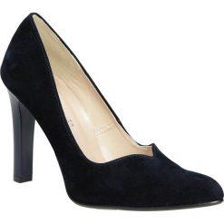 Czółenka na słupku Casu 1659. Brązowe buty ślubne damskie marki bonprix, na obcasie. Za 99,99 zł.