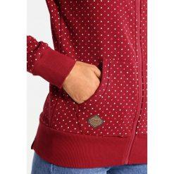 Odzież damska: Ragwear CHELSEA DOTS ZIP Bluza rozpinana wine red