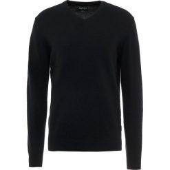 Barbour HARROW Sweter black. Czarne swetry klasyczne męskie Barbour, m, z kaszmiru. Za 549,00 zł.