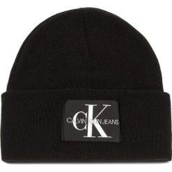 Czapka CALVIN KLEIN JEANS - J Basic Men Knitted K50K504173  016. Szare czapki zimowe damskie marki Calvin Klein Jeans, na zimę, z jeansu. Za 179,00 zł.
