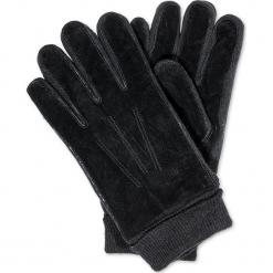 RĘKAWICZKI MĘSKIE A102 - CZARNE. Czarne rękawiczki męskie Inny. Za 19,99 zł.