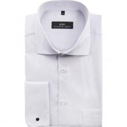 Koszula MASSIMO 15-01-57-K. Fioletowe koszule męskie na spinki Giacomo Conti, m, z bawełny, z klasycznym kołnierzykiem. Za 229,00 zł.
