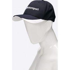 Puma - Czapka. Czarne czapki z daszkiem męskie Puma, z bawełny. W wyprzedaży za 79,90 zł.