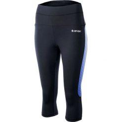Spodnie dresowe damskie: Hi-tec Leginsy Lady Isab 3/4 Black/Deep Blue r. S