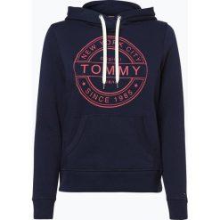 Bluzy damskie: Tommy Jeans - Damska bluza nierozpinana, niebieski